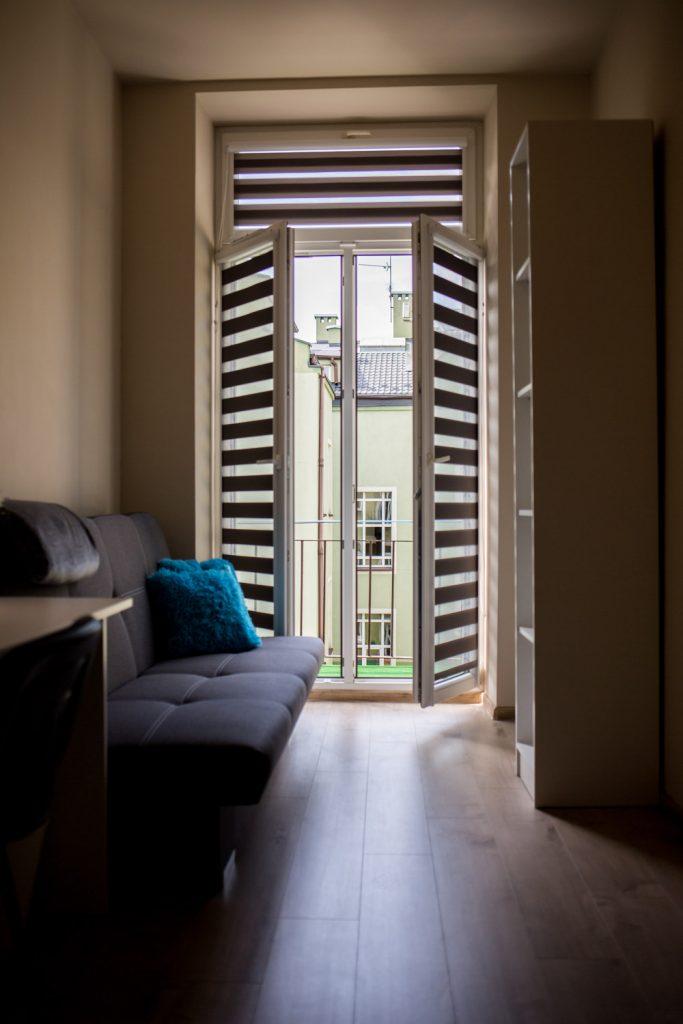 Mieszkanie na wynajem - balkon